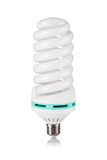 Fluorescent light bulb Royalty Free Stock Photo