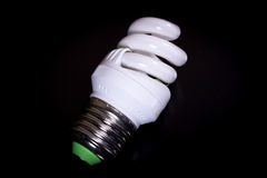 Fluorescent light bulb Stock Images