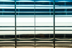 Fluorescent light set in the roof Royalty Free Stock Photos