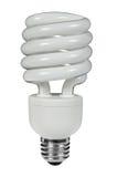 Fluorescent lightbulb Stock Photo