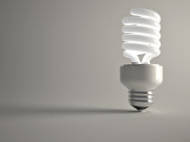 Fluorescent lightbulb Royalty Free Stock Image