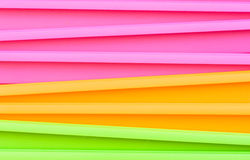 Fluorescent multicolored jardiniere Royalty Free Stock Images