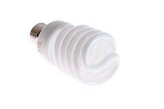 Fluorescent saving lamp Royalty Free Stock Image