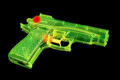 Fluorescent Water Pistol Royalty Free Stock Images