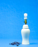 Fluorescente bol in lamp Royalty-vrije Stock Foto