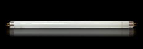 Fluorescente buislamp Stock Afbeelding