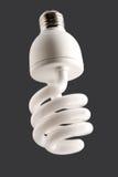 Fluorescente energie - besparingslamp stock foto's