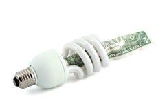Fluorescente lamp stock afbeelding