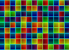 Fluorescerande flerfärgad lighying Royaltyfria Bilder