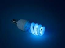 fluorescerande idélampa för formgivare royaltyfria foton