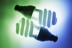 fluorescerande kulor Royaltyfri Bild