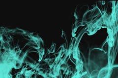 Fluorescerande rök Arkivfoton