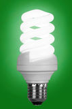Fluoreszenzlampe O Lizenzfreie Stockfotos