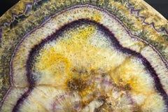Fluorit von Derbyshire, England Stockbild