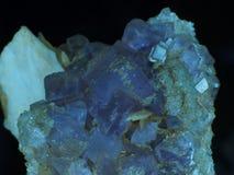 fluorite Royaltyfri Bild