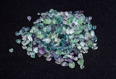 fluorite Photographie stock
