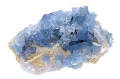 Fluorite - blå himmel Fotografering för Bildbyråer