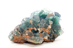 Fluorite mineral sample Stock Photography