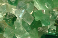 fluorite mineral texture Royalty Free Stock Photography