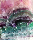 Fluorite pattern Stock Images