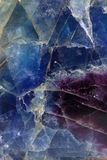 Fluorite pattern Royalty Free Stock Photo
