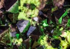 Fluoritekristallnärbild Royaltyfria Foton