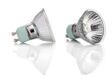 Fluorowów świateł żarówka z ścieżką Fotografia Royalty Free