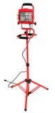 fluorowa lekka czerwona tripod praca Zdjęcie Royalty Free
