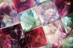 fluoryt kopaliny kolekcja Obrazy Stock