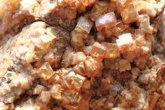 fluoryt kopaliny sześciany Zdjęcie Royalty Free
