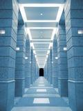 Flur des Gebäudes lizenzfreie stockfotos