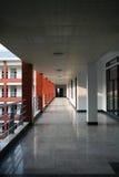 Flur im Gebäude Stockbild