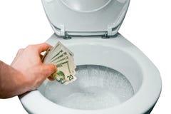 Flush it Stock Images