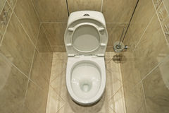 Flush toilet Royalty Free Stock Images