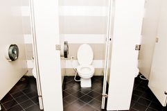 Flush toilet Royalty Free Stock Photo