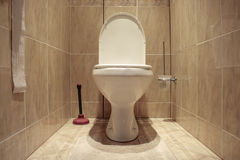 Flush toilet Stock Images