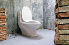 Flush toilet Royalty Free Stock Photos