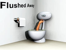 Flushed 26 Royalty Free Stock Image