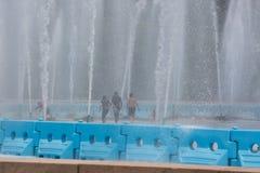 Flushing Meadows Corona Park Water Fountain fotografía de archivo libre de regalías
