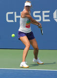 Four times Grand Slam champion Maria Sharapova practices for US Open Stock Photos