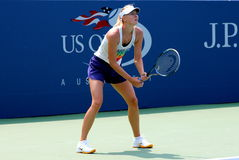 Four times Grand Slam champion Maria Sharapova practices for US Open Stock Photography