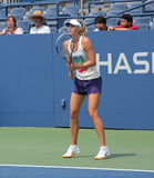 Four times Grand Slam champion Maria Sharapova practices for US Open Stock Images
