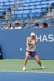 Four times Grand Slam champion Maria Sharapova practices for US Open Royalty Free Stock Image