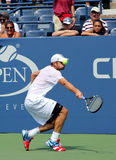 Grand Slam champion Andy Roddick practices for US Open  at Billie Jean King National Tennis Center. FLUSHING, NY - AUGUST 25: Grand Slam champion Andy Roddick Stock Image