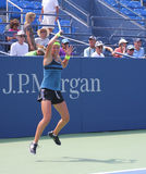 Grand Slam champion Victoria Azarenka practices for US Open at Billie Jean King National Tennis Cente Stock Photography