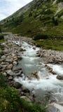 Fluss Ã-sterreich Alpen Stockfotografie