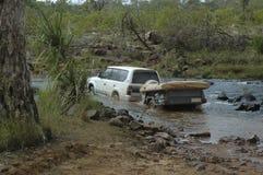 Fluss-Überfahrt lizenzfreie stockfotos