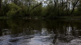 Fluss stock video footage