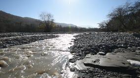 Fluss stock video