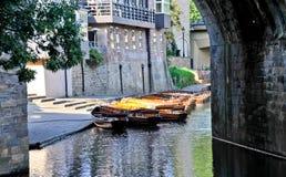 Fluss-Abnutzung Lizenzfreies Stockbild